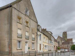 Appartement avec charme au cœur d'Étampes, proche Paris