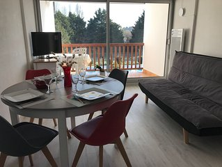 AGREABLE APPARTEMENT 2 CH 4/6 PERSONNES PISCINE PRIVEE ET TERRAIN DE TENNIS