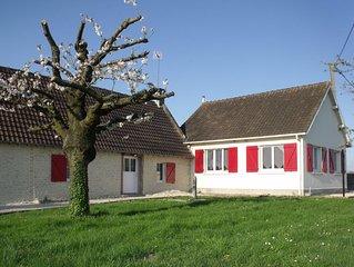 Maison  a 5 mn de Cabourg au coeur du marais de Varaville