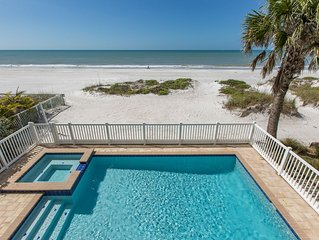 Direct Beach Front - Pool Home - 6 Bedrooms - 4.5 Baths - Newly Built