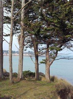 Saint Malo pointe de la varde vue mer