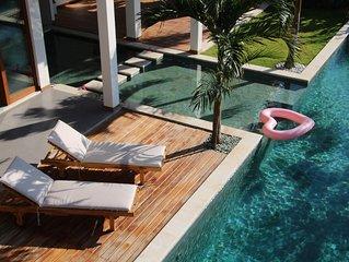 3-bedroom Bali-meets–California Modern Design Gem with Pool and Yoga Shala