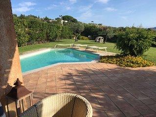 Exceptionnelle villa avec piscine