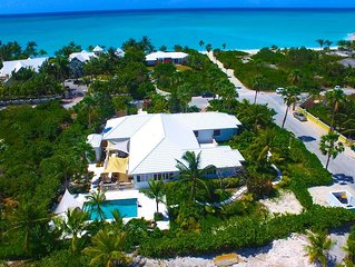 10 Steps to Grace Bay Beach!!  5BR, Private Pool,  Why walk to the beach?