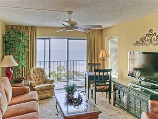 Family Friendly Beachfront Condominium!Beach Access, Pool, Tennis, Direct Ocean