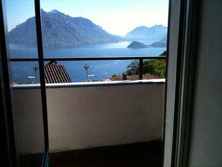 Appartement avec une vue magnifique sur le lac et les montagnes , Internet Wifi