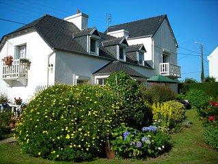 Maison familiale de charme a Carantec en baie de Morlaix