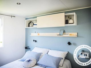 Camping Lou Broustaricq **** - Maeva Camping - Mobil Home 4 pièces 6/8 personnes