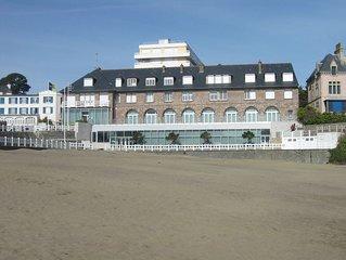 Appartement T2 pour 4 personnes ' les pieds dans l'eau ' (plage à 20 mètres)