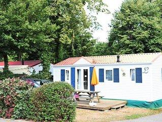 Camping Le Patisseau**** - Mobil Home Goelette 4 Pieces 6 Personnes