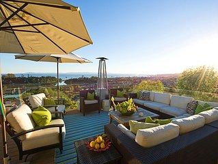 Montecito Mid Century Estate Acre, Pool,  Amazing Ocean Views