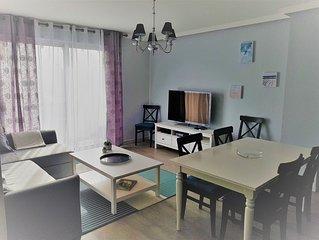 Appartement F2 45 m2, parking privatif couvert dans le centre ville de DEAUVILLE