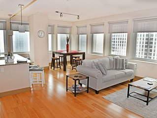 Lap of Luxury, High-Rise, Downtown Dallas Two Bedroom Suite