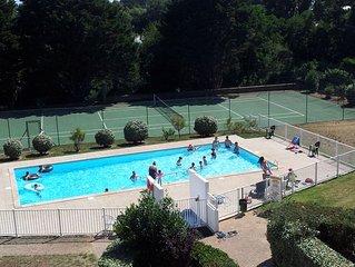 Beau Duplex 2 ch. proche plage avec piscine