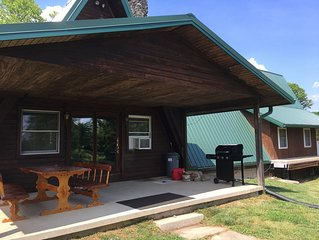 The Chalet On The Hill Located In Hocking Hills Ohio & Wayne National Forest