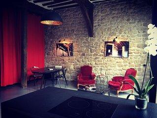 Location loft avec cuisine équipée et jardin aux Portes de Paris