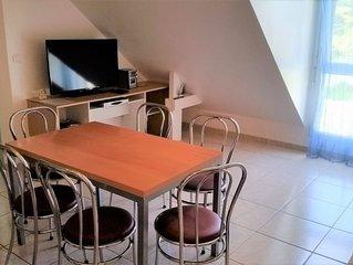 Appartement design (T2 + Mezzanine) à 200 m de la Plage - DAMGAN