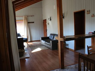 Beautiful and cozy vacation house with excellent location in Pucon, Chile.