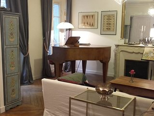 appartement d'artiste avec piano 80 m2, artist appartment with piano
