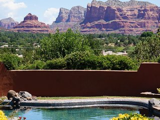 *WEEKLY-MONTHLY DISCOUNTS NEW* Heavenly Sedona 'Morgan's View' (POOL/SPA/STEAM)