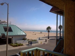 Ten Steps to the Beach.  Gorgeous Views! Upper level 2 bedroom condo