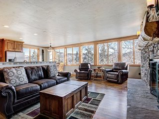 Walk to the Gondola and Main St. Breckenridge in this Gorgeous Remodeled Condo