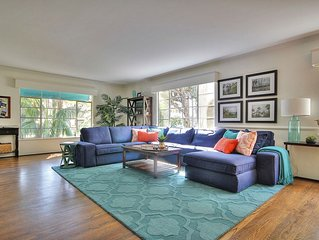 REDUCED Rates! Spacious Villa-center of West Beach, Funk Zone & State St-2 block