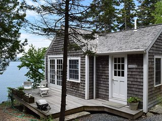 The Boat House (or 'Honeymoon Suite') on the Water's Edge of Blue Hill Bay, MDI