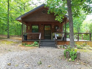 Secluded cabin with mountain views, wildlife viewing and close to lakes & rivers