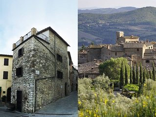 The Art Rebus MEDIEVAL TOWER in TUSCANY