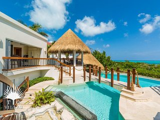 Turtle Breeze, a One-of-a-Kind Architectural Masterpiece on Grace Bay Beach