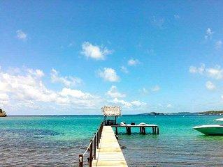 Un havre de paix sur un îlet paradisiaque