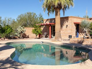 Private Casita with Pool & Spa in Convenient Foothills location