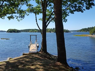Newly Built Pet Friendly Secluded Waterfront Home w/ Private Dock & Amazing View