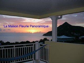 ''La Residence  Panoramique et Fleurie,  Vue IMPRENABLE , CLIM, WIF