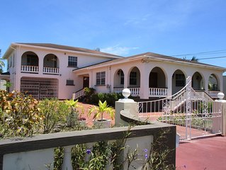Prestigious Atlantic Shores home close to Surfing, beach & Oistins
