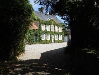 Grande maison de caractere en Normandie