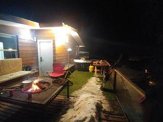 Mountain shelter in Farellones 2600 m.o.s.l. center of the 3 ski centers