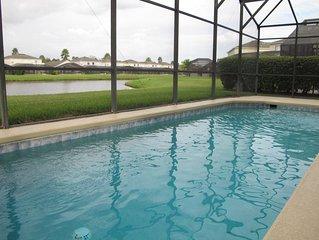 Lake View 5BR/3.5B Pool Home near Disney