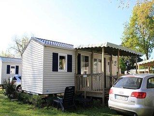 Camping Isle Verte**** - Cottage PMR 3 Pièces 4 Personnes