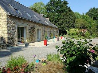 Chambre d'hôtes dans longère bretonne entièrement restaurée