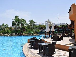 New Apartment in Delta Sharm Resort seaview