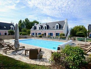 Belle Ile: La Maison Desirade (5 a 6 personnes)