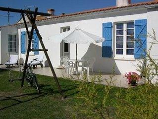 Maison Traditionnelle Chaumoise, entre Mer, Forêt  Marais et port de plaisance