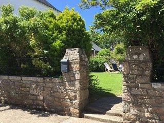 Saint Philibert - Jolie Maison Bretonne sur Jardin Clos.