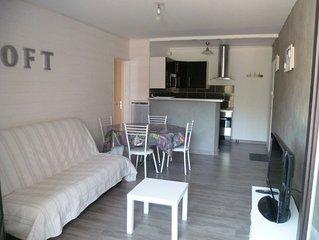 appartement Saint-Hilaire de Riez en rez de jardin avec grande terrasse