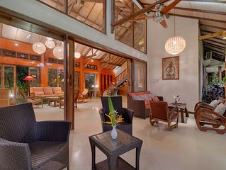 Stunningly Colorful Spacious, Artistic Bali House for Short Term Rent