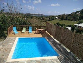 Superbe Bas De Villa Sud Martinique avec Piscine et Vue Sur Mer