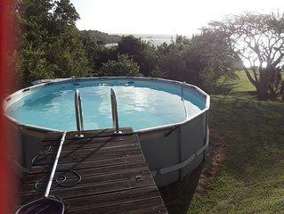 Superbe chalet avec piscine and Wifi