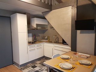 Appartement cosy classe 3*** Lorient avec parking prive